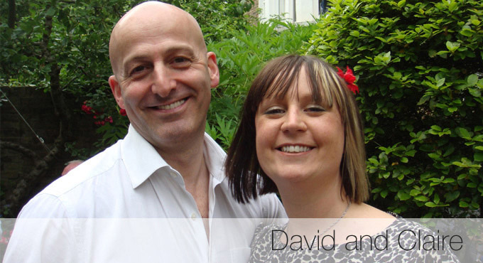 David and Claire Benjamin Real Life Story - click to read more...